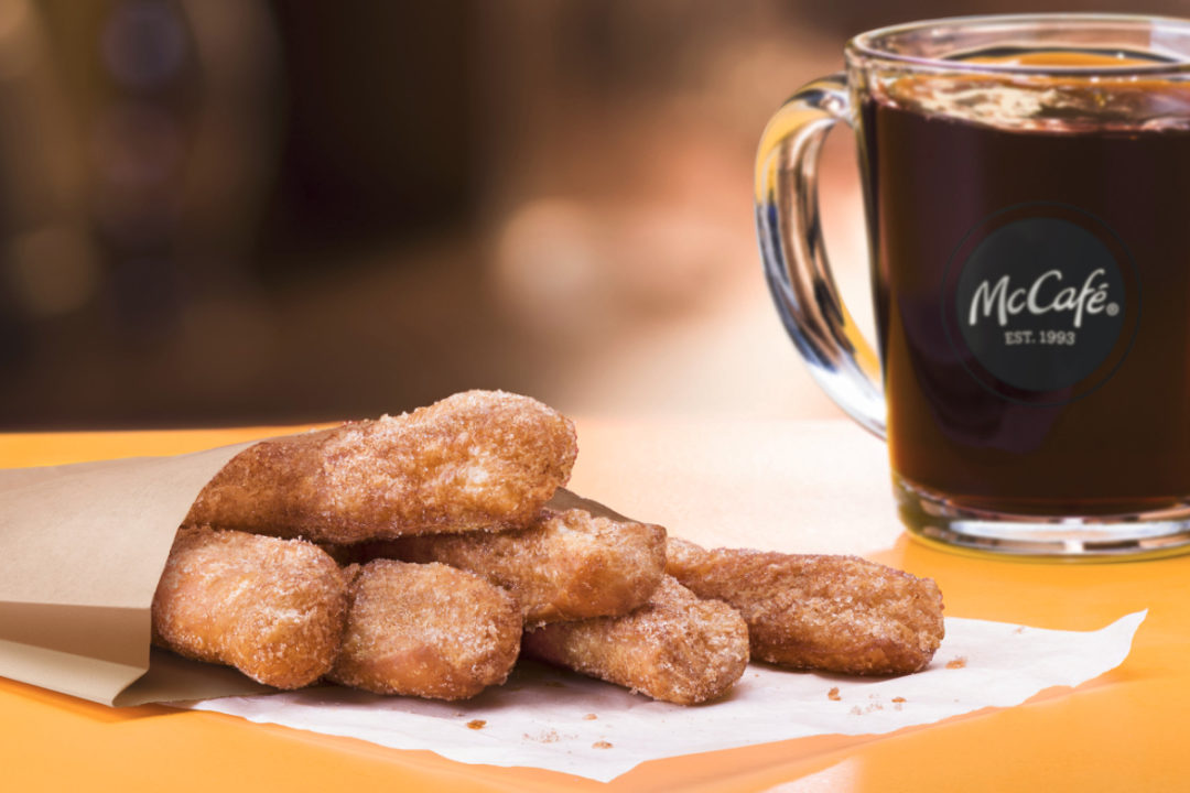 McDonald's donut sticks