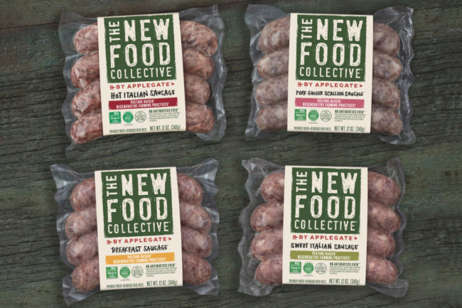 Applegate New Food Collective sausage