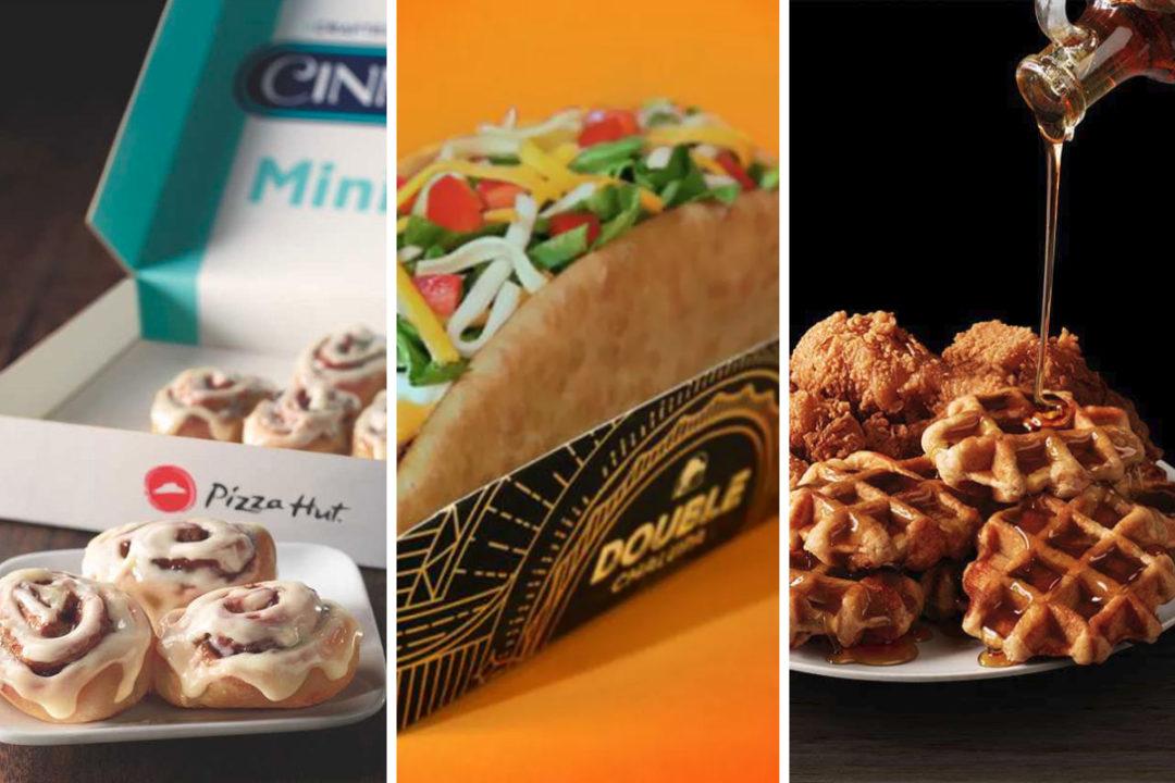 New Yum Brands menu items