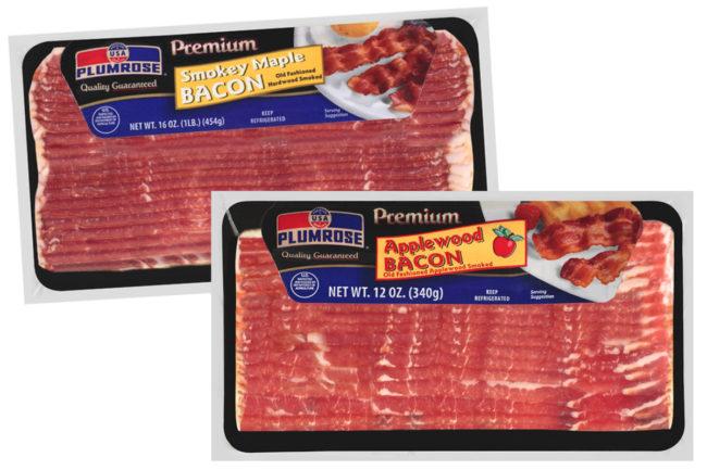 Plumrose USA bacon, JBS