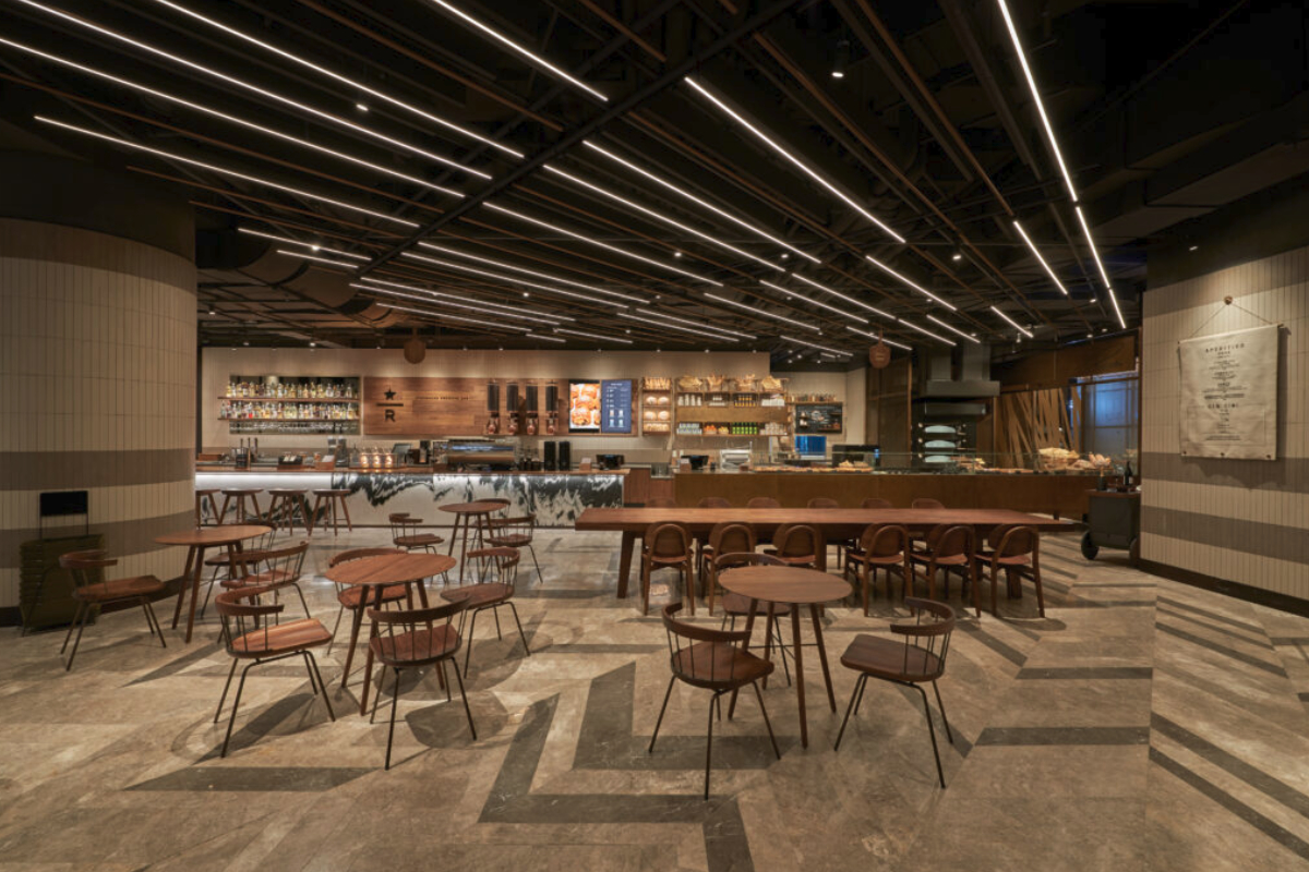 Starbucks Reserve Bakery Cafe in China