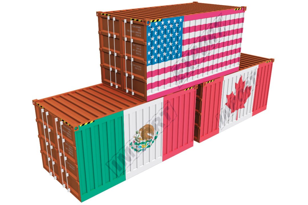 USA, Mexico and Canada cargo