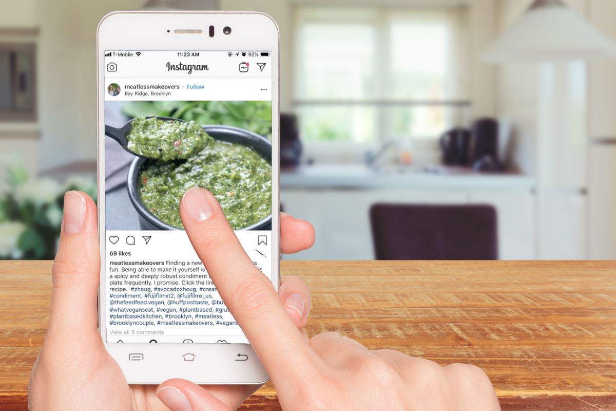 Snapshots of zhoug: Social media mentions increase for the condiment