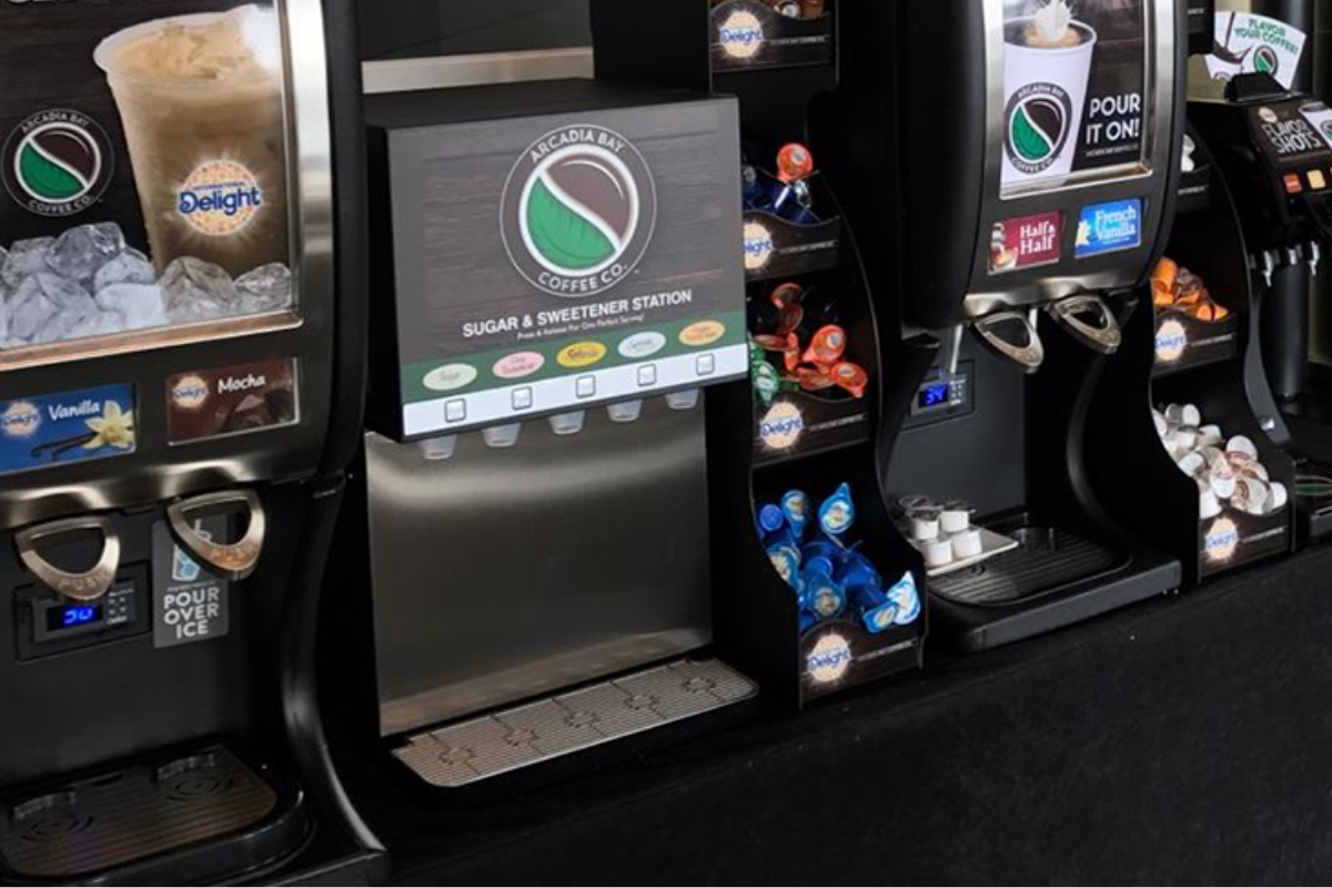 Beverage Solutions Group coffee station