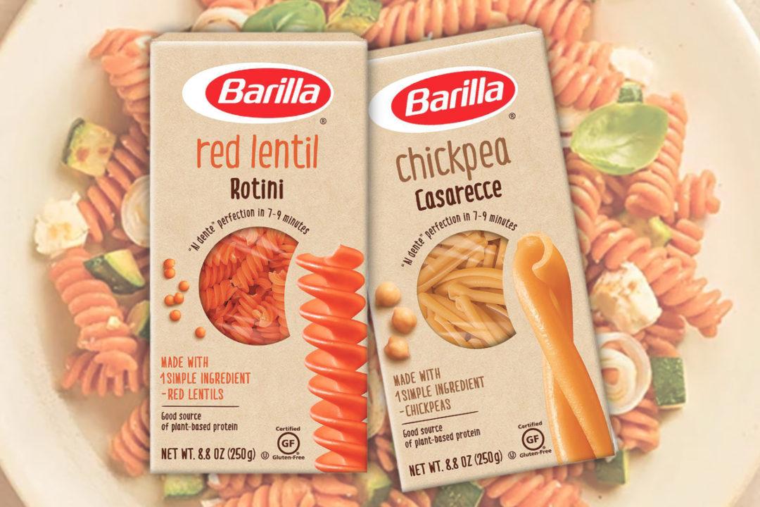 Barilla plant-based pasta