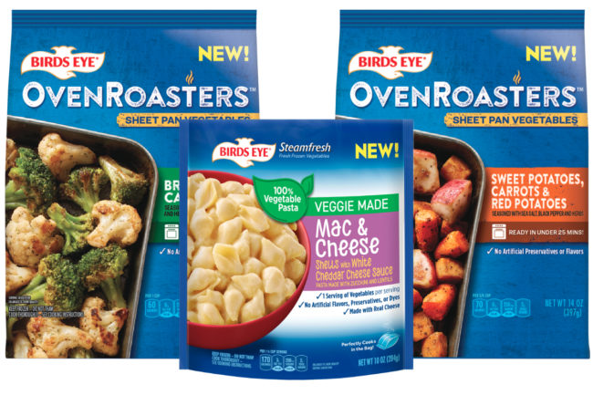 Birds Eye Oven Roasters and Veggie Made Mac & Cheese, Conagra Brands