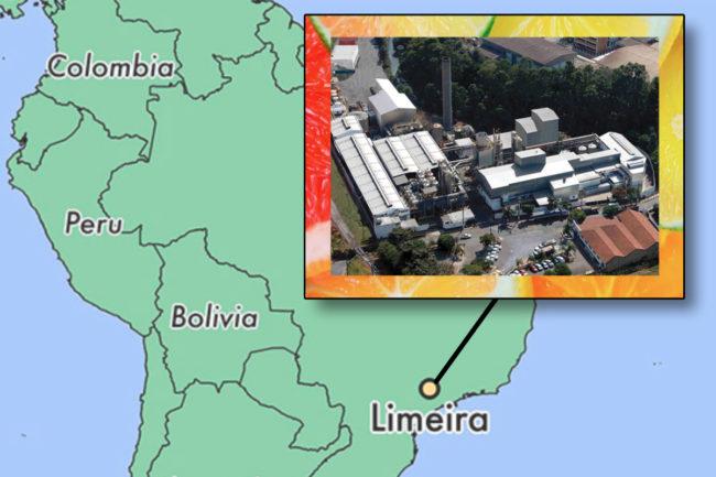 CP Kelco pectin facility in Limeira, Brazil