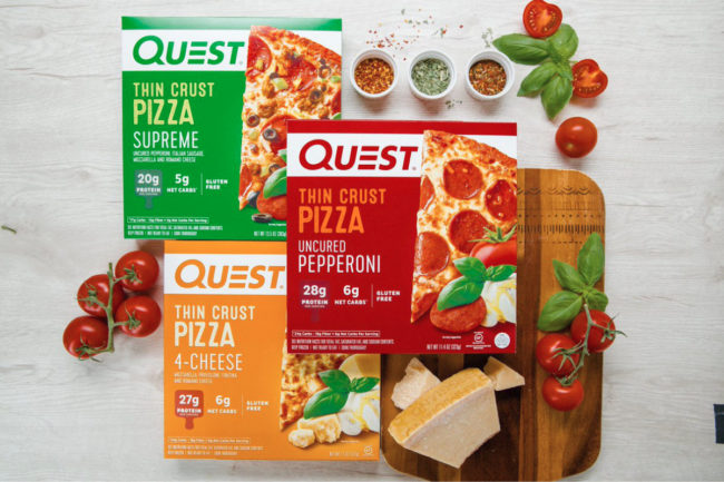 Quest frozen pizza