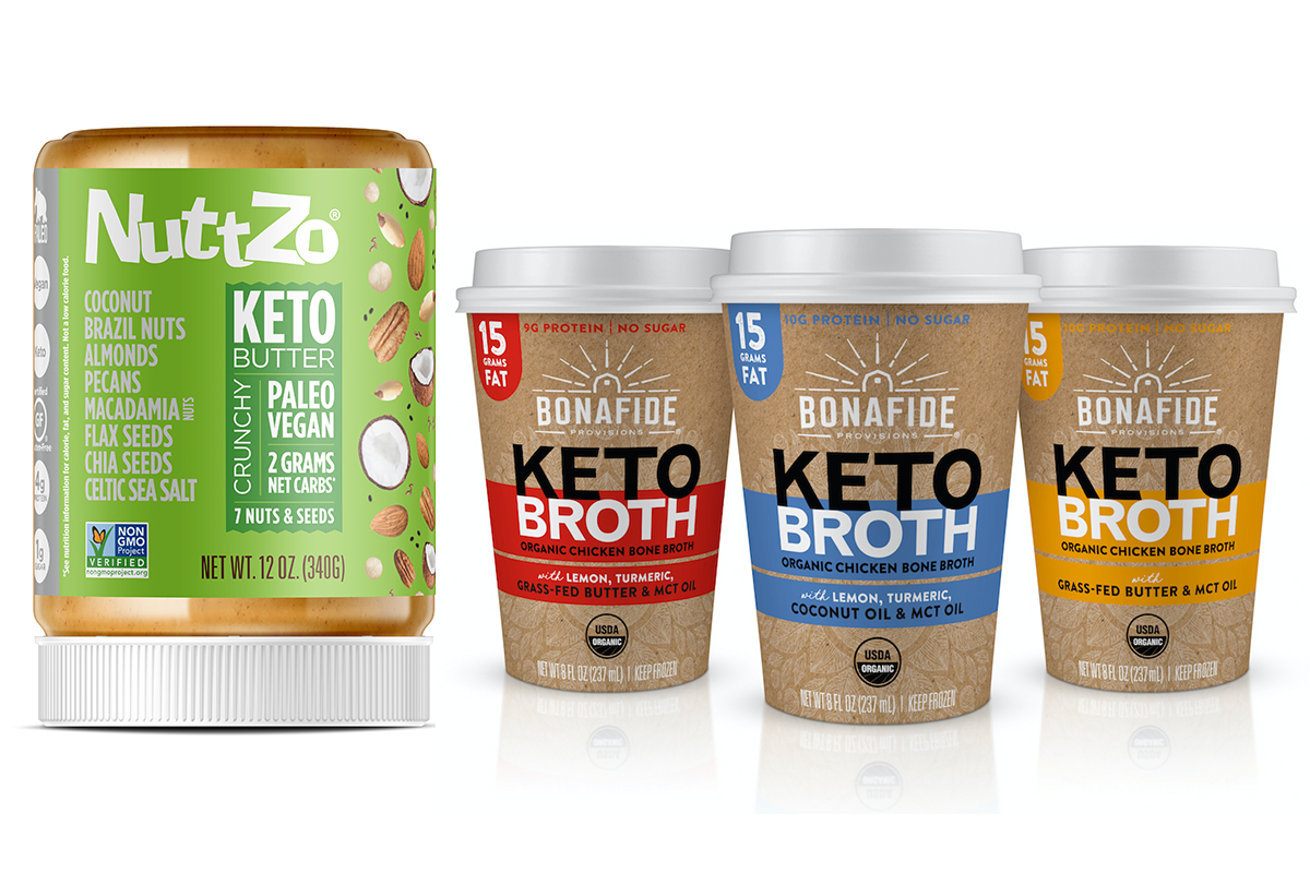 Keto products at Expo West