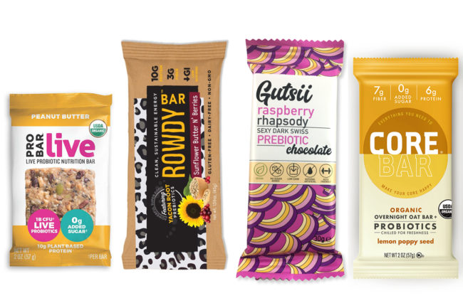 Gut health products at Expo West