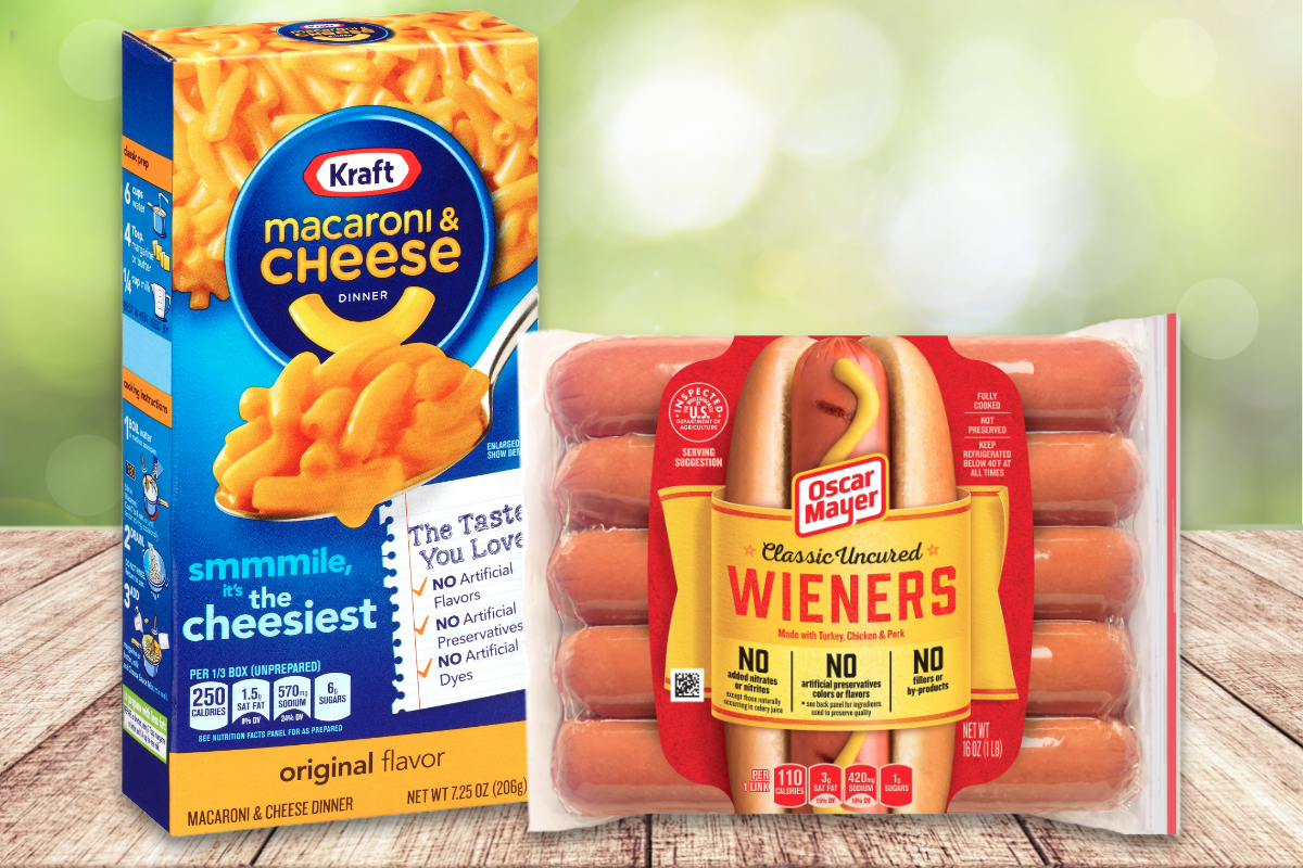 Kraft and Oscar Mayer products, Kraft Heinz Co.