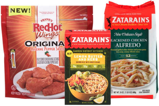New McCormick products