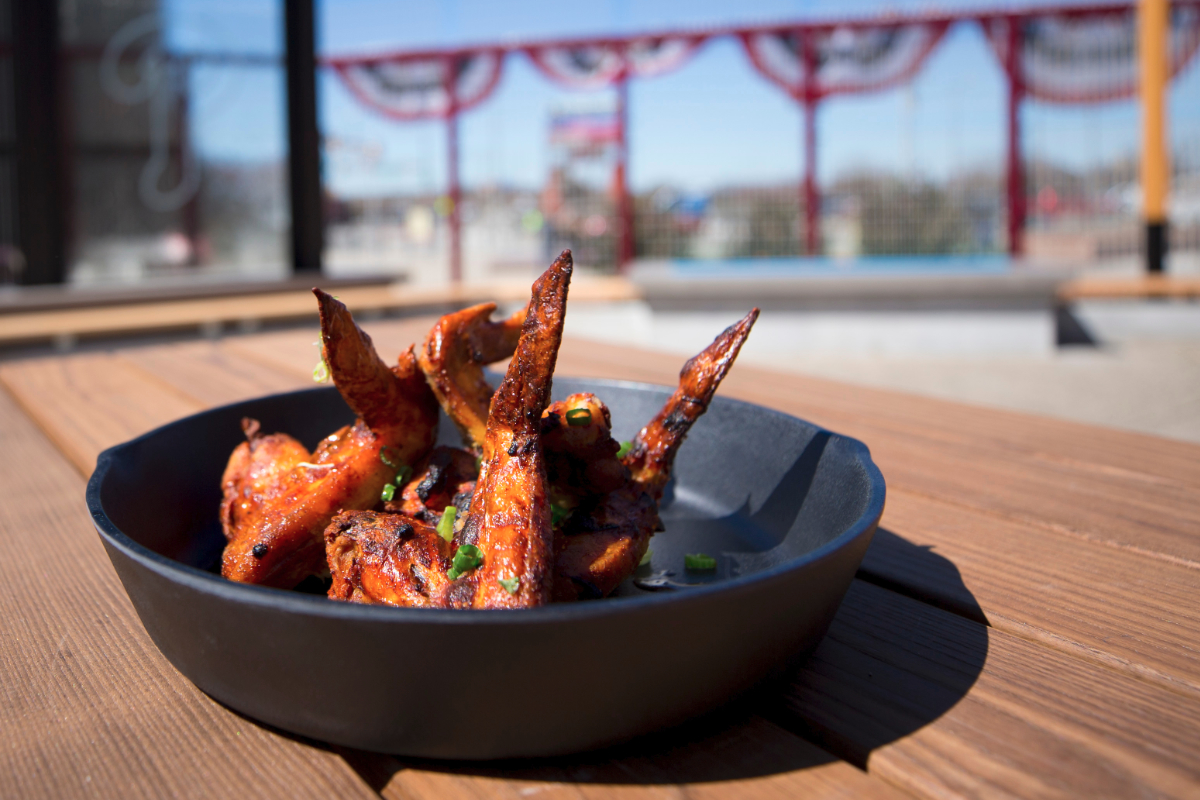 Tandoori Chicken Wings from Citizens Bank Park