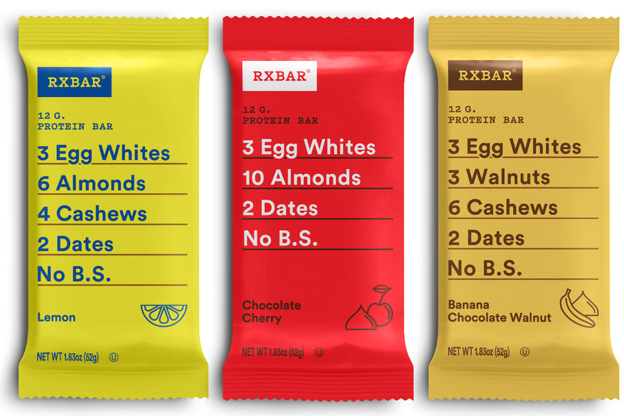 New RXBar flavors