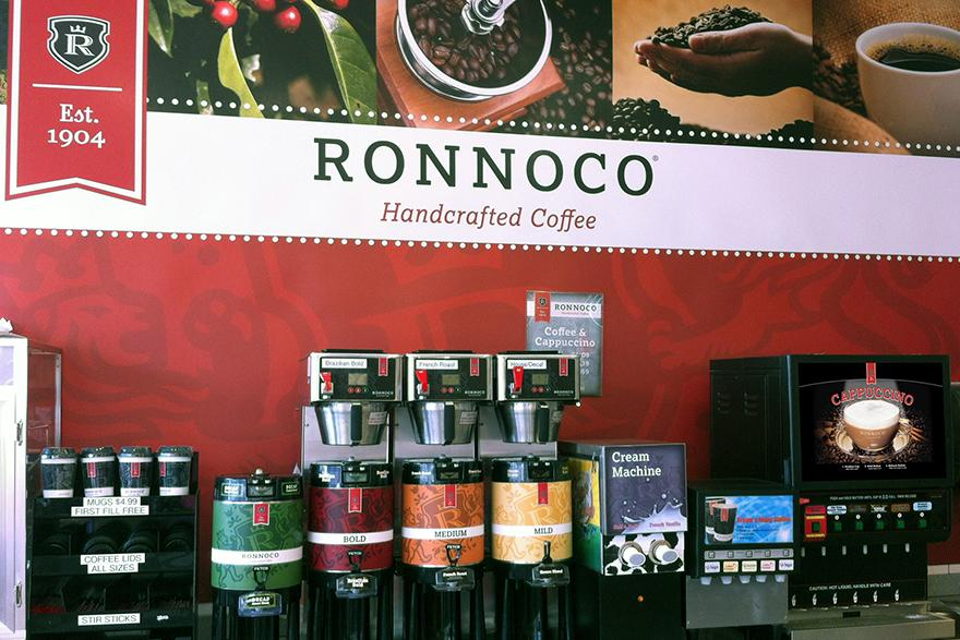 Ronnoco c-store coffee station