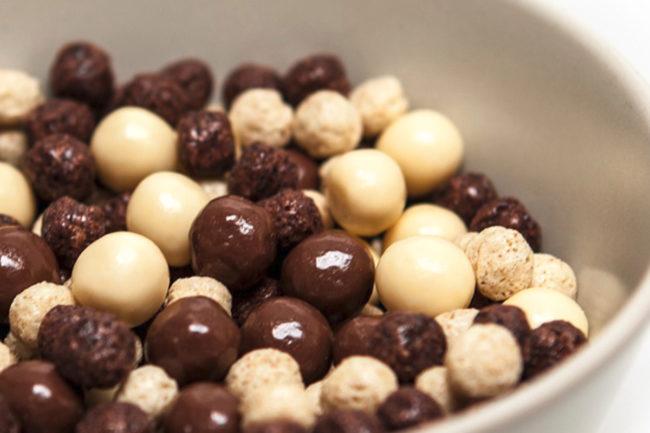 Smet chocolate pearls