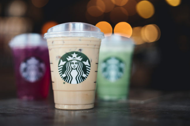 Starbucks new strawless cups and lids
