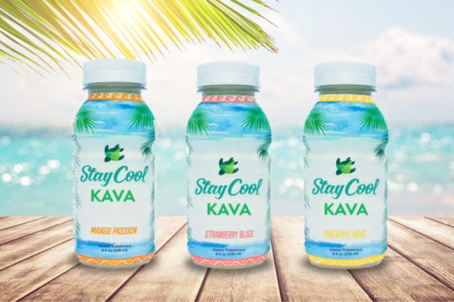 Stay Cool kava beverages