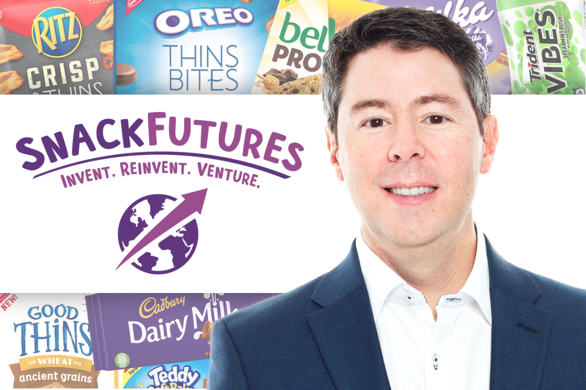 Tim Cofer, Mondelez SnackFutures with caption