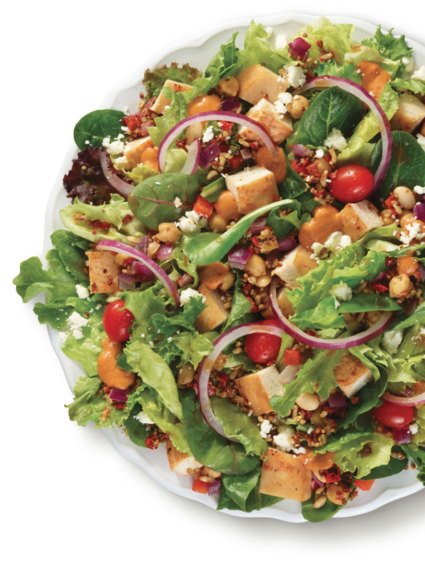 Wendy's Power Mediterranean Salad