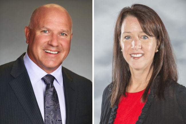 Andy Euser and Erika Noonburg-Morgan, Ventura Foods
