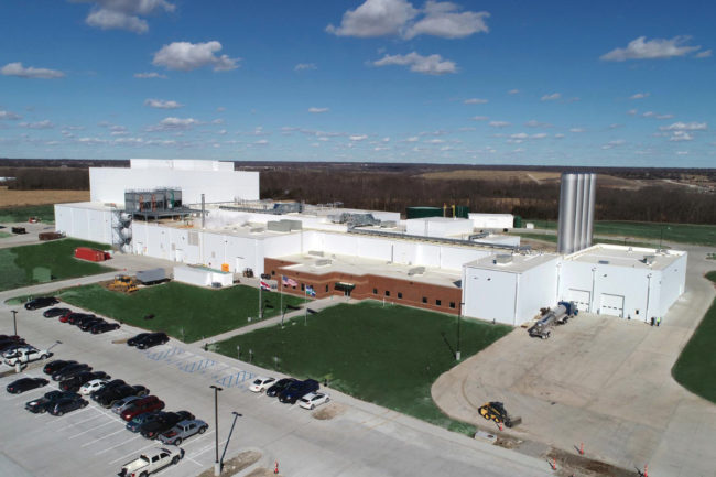 Aurora Organic Dairy facility in Columbia, MO