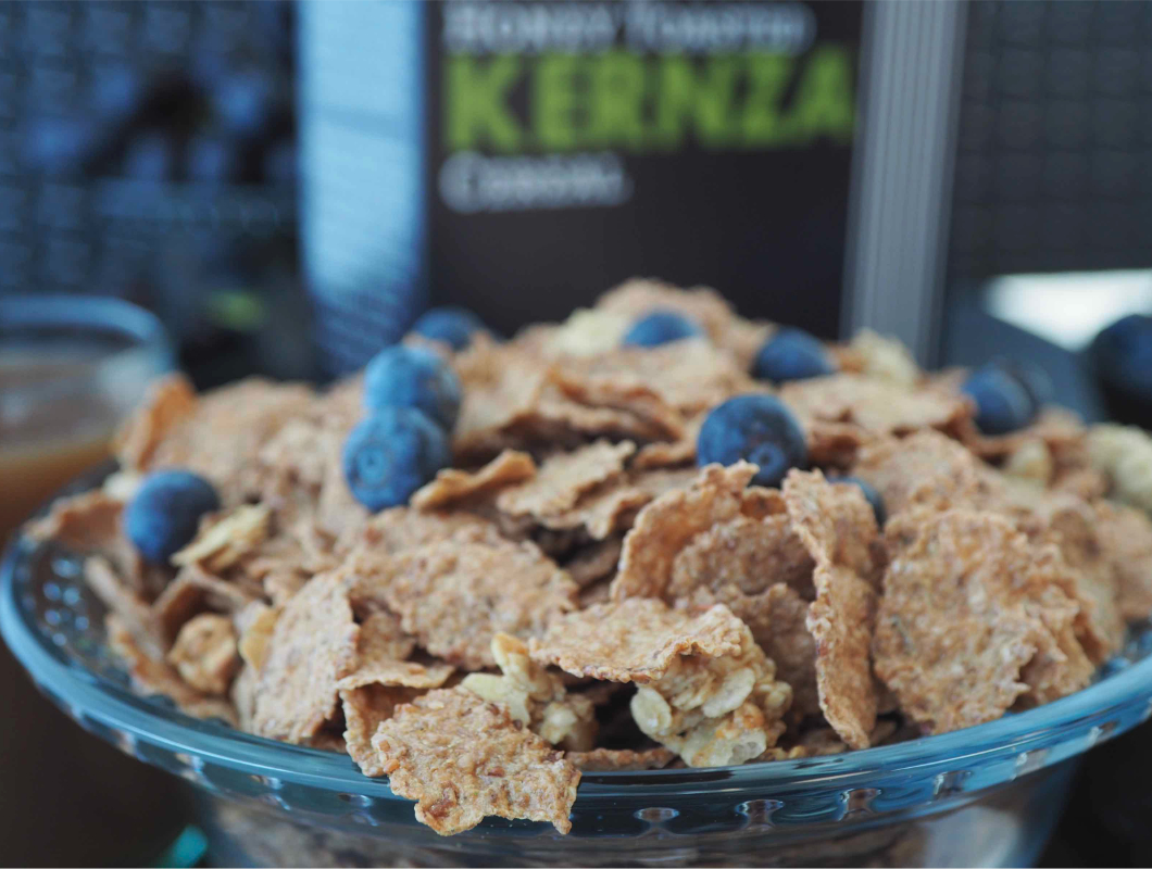 Cascadian Farm Kernza cereal, General Mills