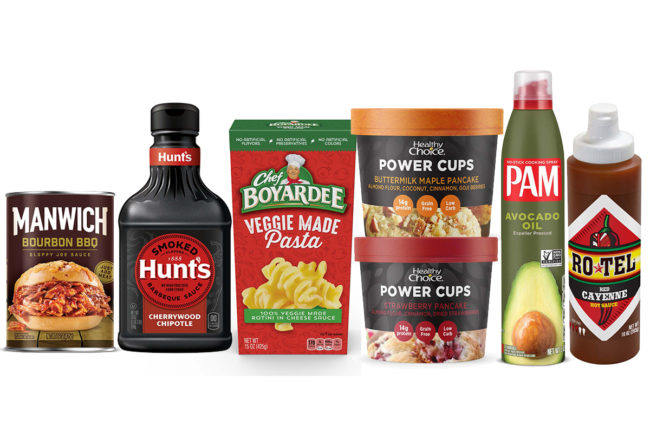 Conagra Brands new center-of-store products