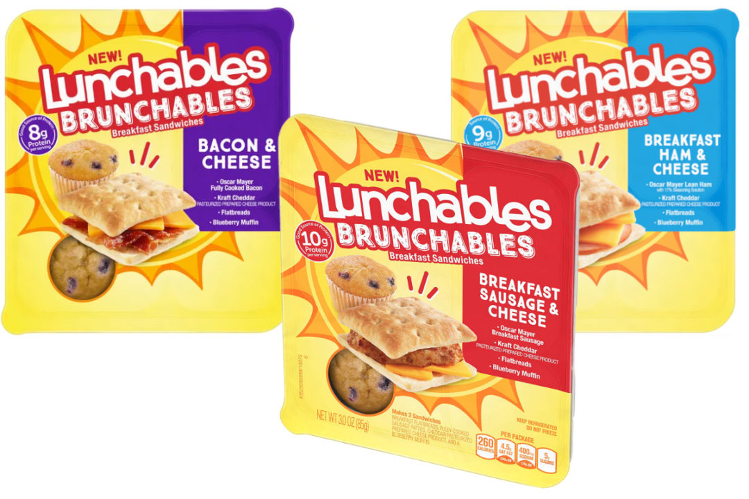 Lunchables Brunchables, Kraft Heinz