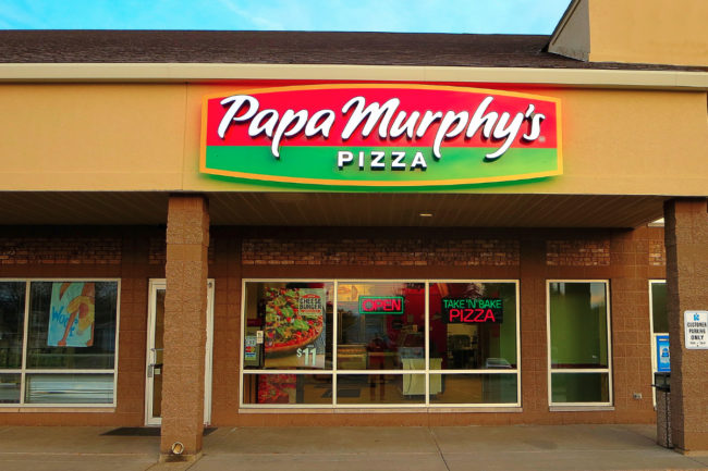 Papa Murphy's pizza restaurant storefront