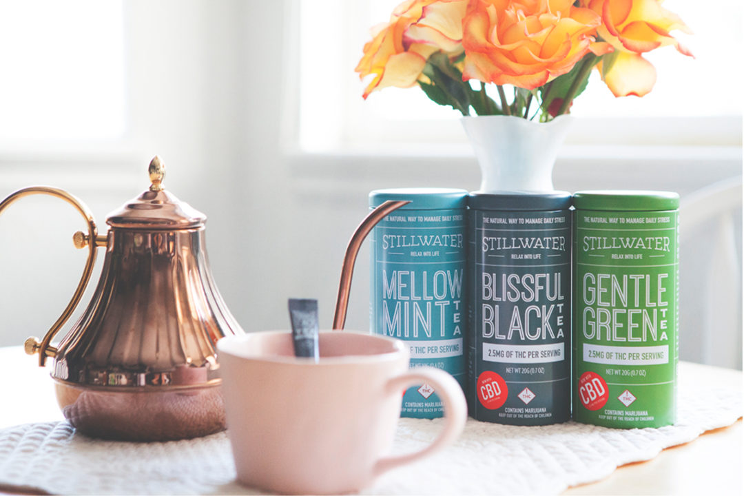 Stillwater Brands CBD tea