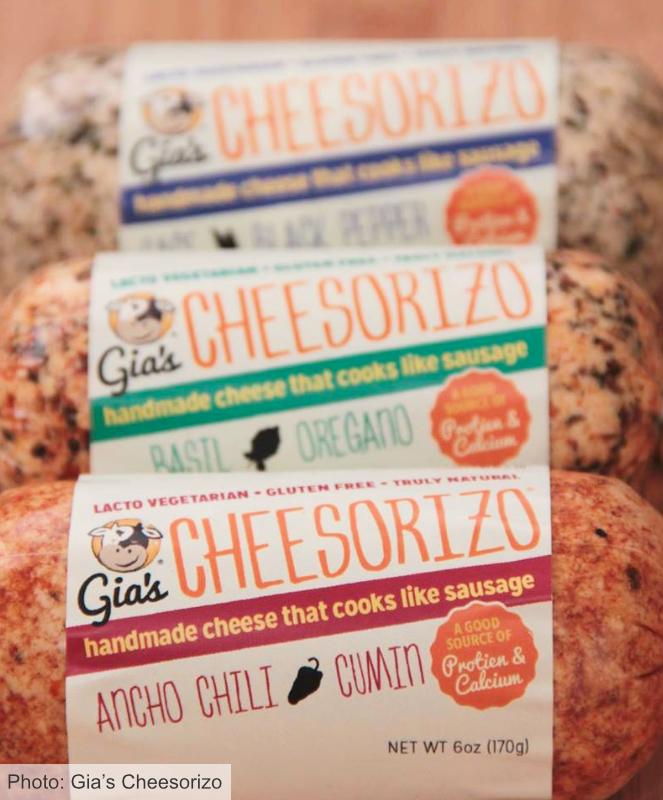 Gia's Cheesorizo Sausage