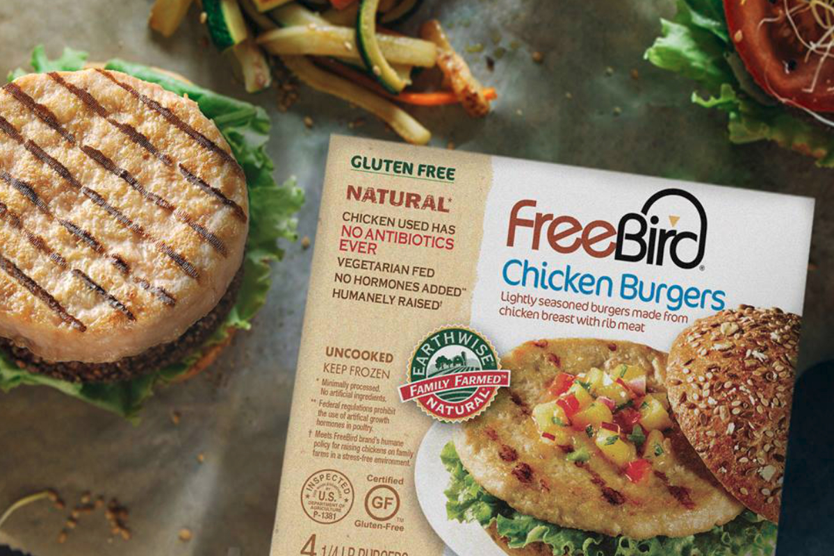 FreeBird chicken burgers, Hain Pure Protein