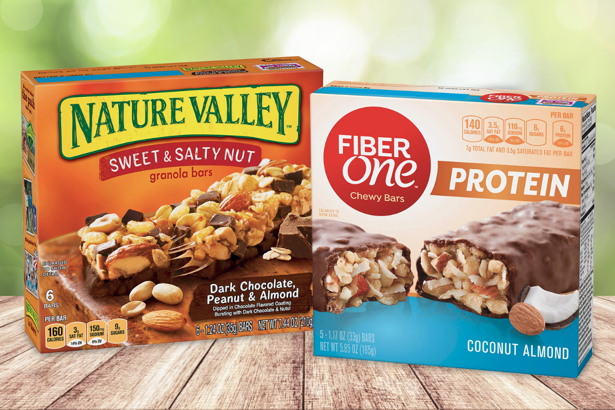 General Mills Nature Valley and Fiber One snack bars