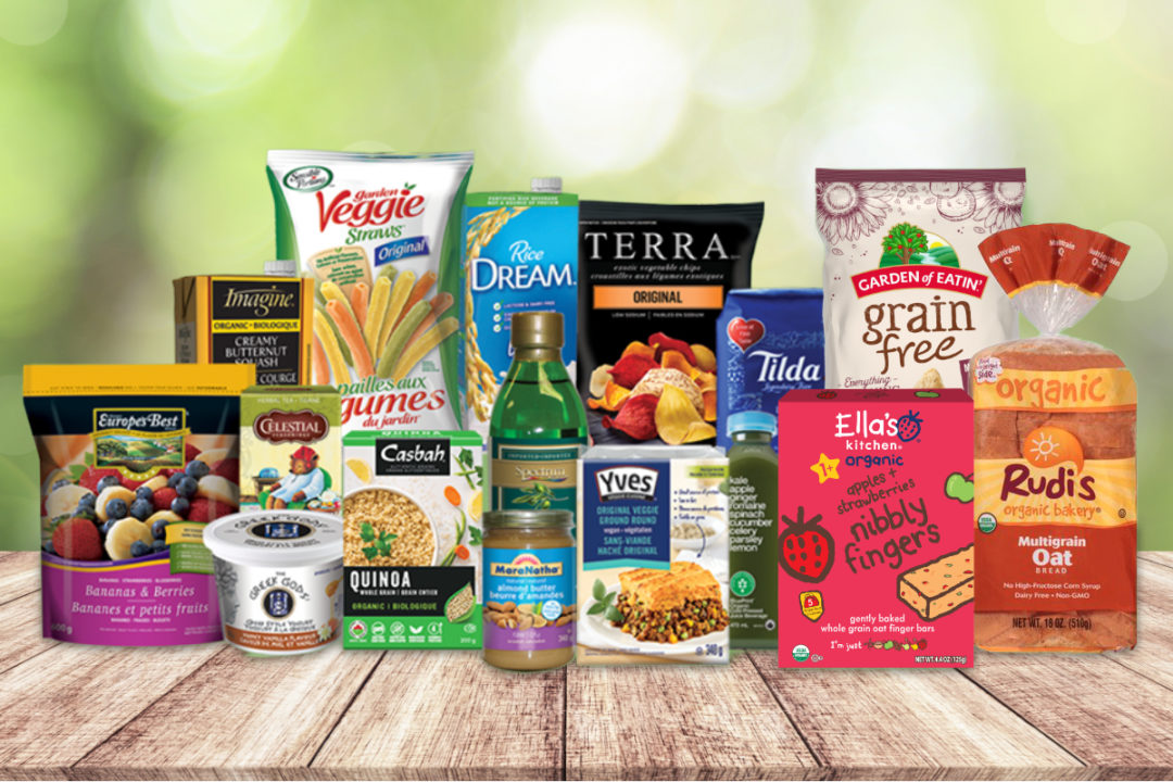 Hain Celestial food and beverage products