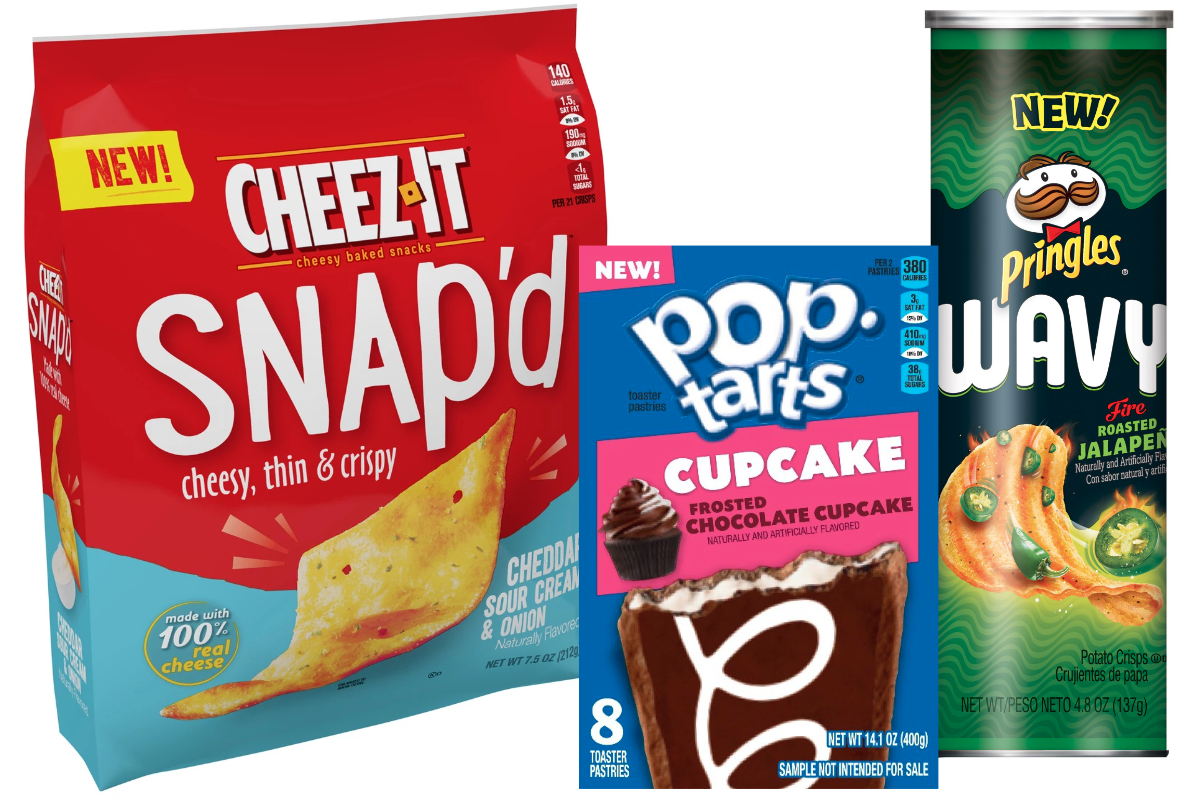Kellogg Brands - Cheez-it, Pop-Tarts, Pringles