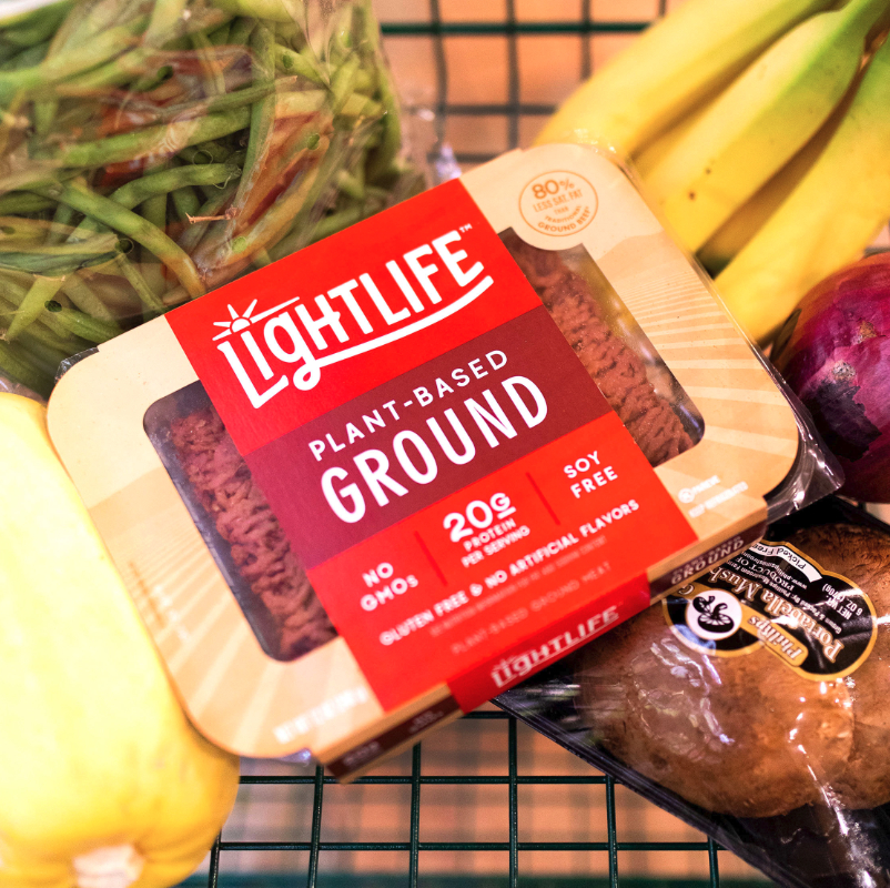 Lightlife ground plant-based meat