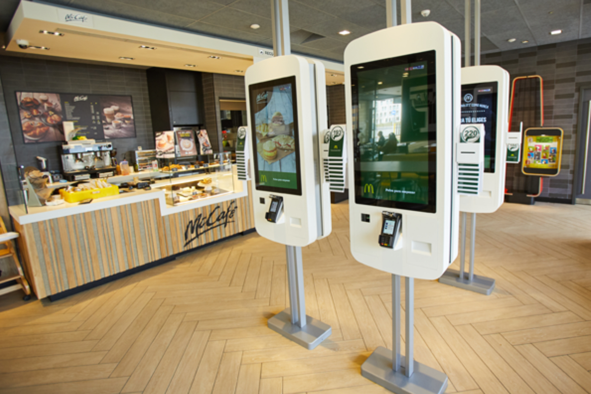 McDonald's experience of the future restaurant