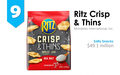 IRI New Product Pacesetters: Ritz Crisp & Thins