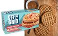 Kellogg Off the Grid Brown Sugar Cinnamon waffles