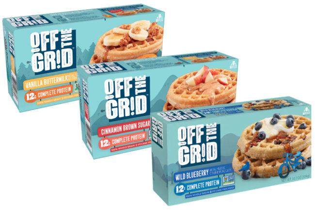 Off the Grid frozen waffles, Kellogg