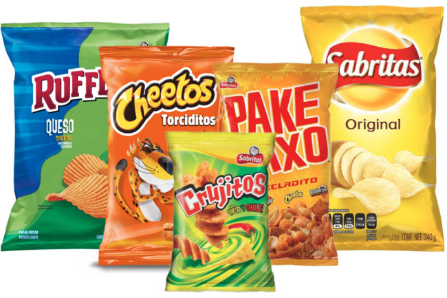 PepsiCo Mexico snacks