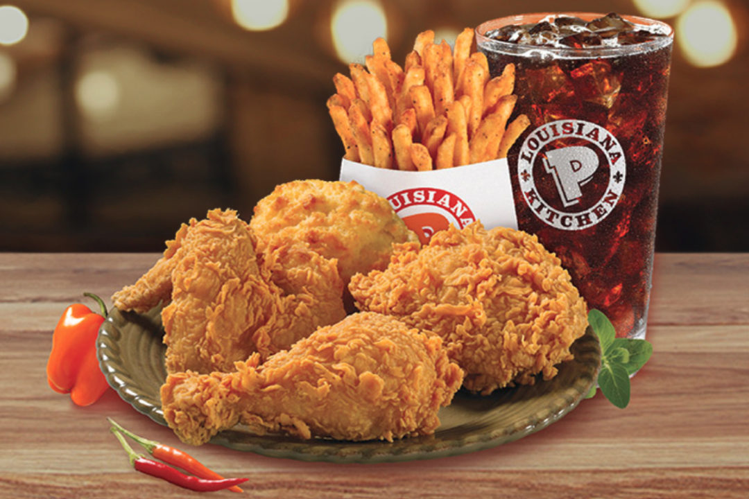 Popeyes meal