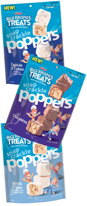 Rice Krispies Treats Poppers, Kellogg