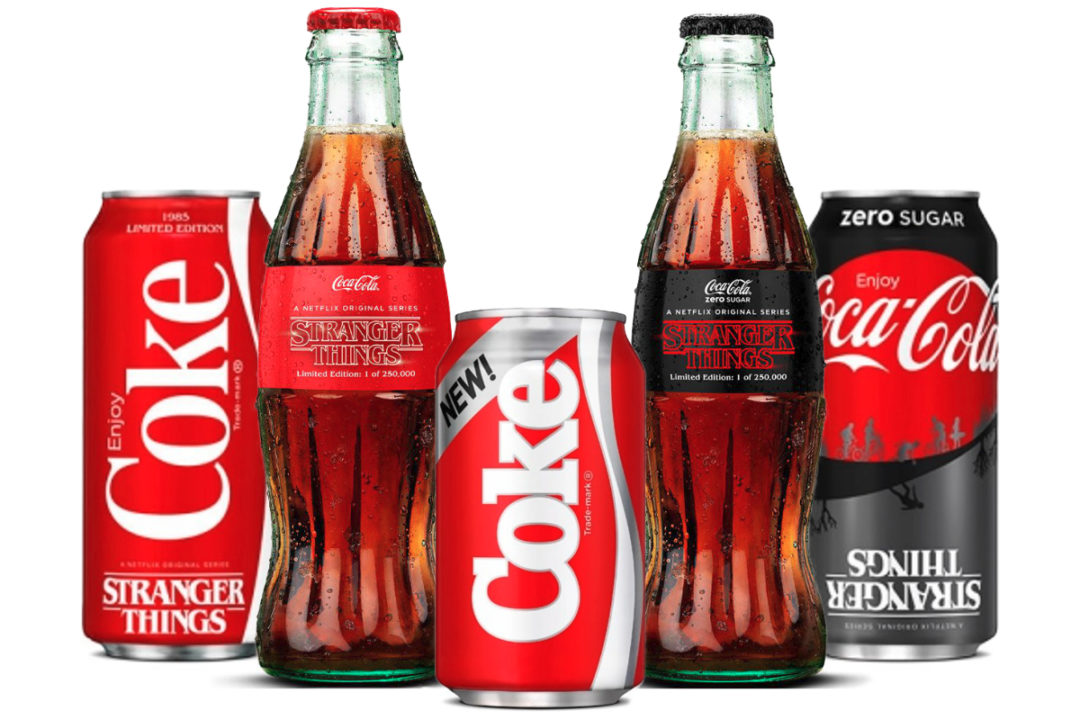 Stranger Things Coca-Cola and New Coke