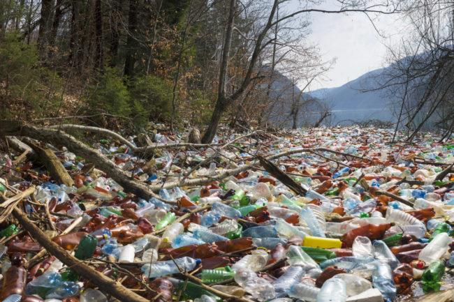 plastic waste in Canada