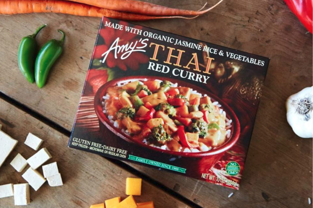 Amy's Kitchen Thai Red Curry organic frozen meal