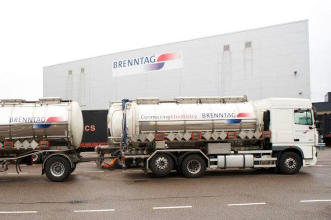 Brenntag trucks