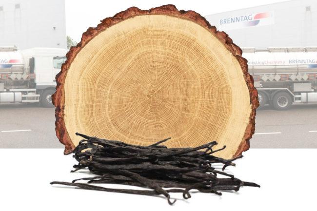 Brenntag distributing wood vanillin