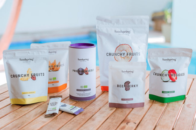 Foodspring products